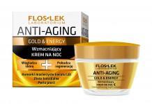 floslek anti aging gold krem na noc
