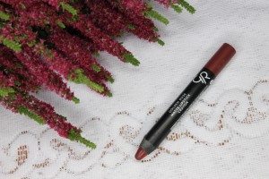 Matte Crayon Golden Rose