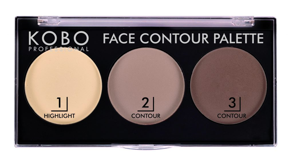 Kobo Professional Face Contour Palette