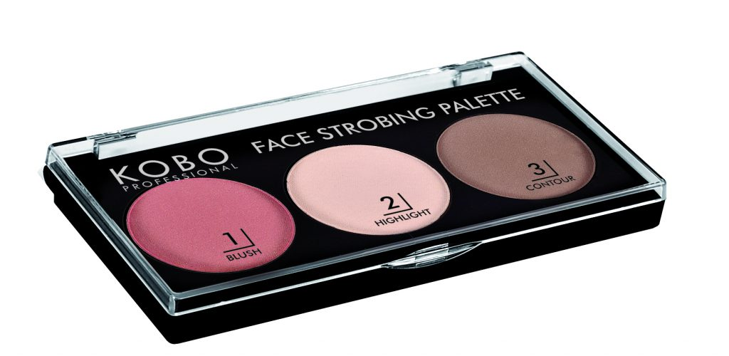 Kobo Professional Face Strobing Palette