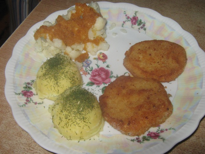 Wegetariański obiad Wielkanocny