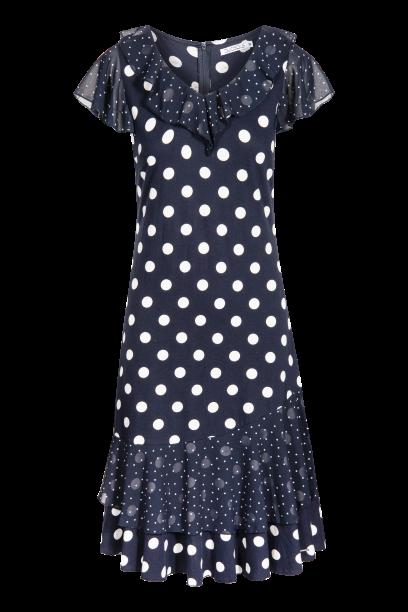 QUIOSQUE sukienka w duże grochy
