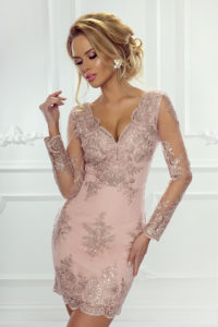 krótka sukienka na wesele