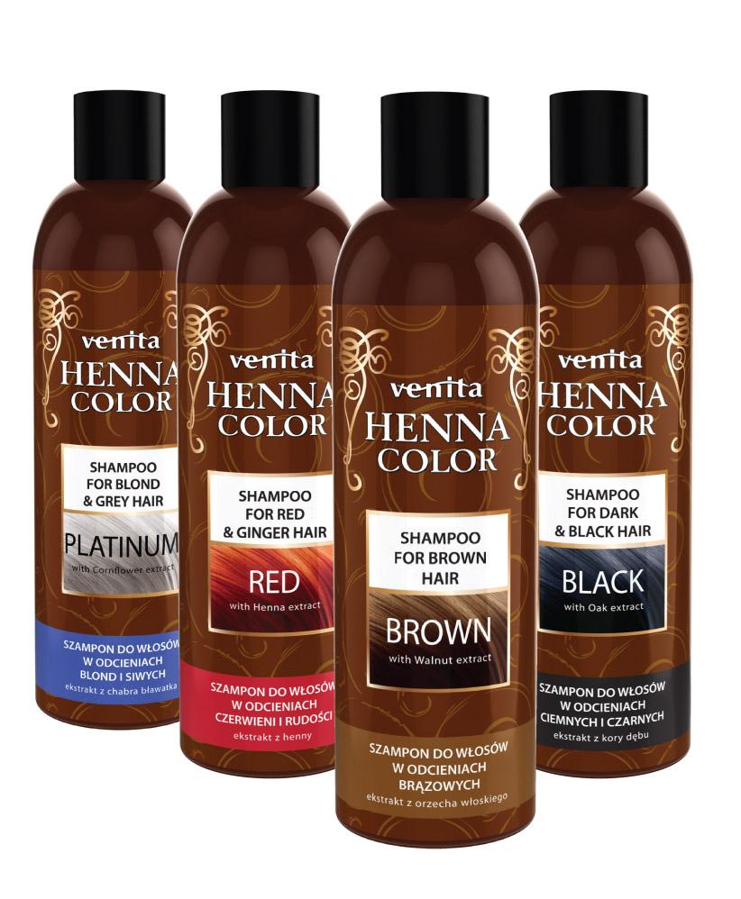 szampony Venita Henna Color