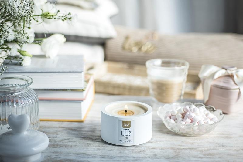 Świece zapachowe z naturalnego wosku