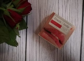 Frank Body Cherry Bomb Lip Scrub