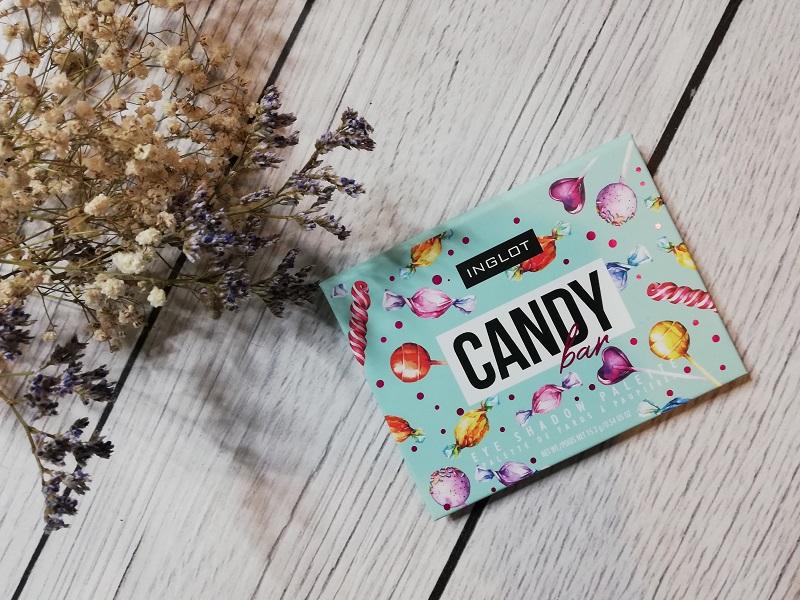 Inglot Candy Bar paletka cieni do powiek