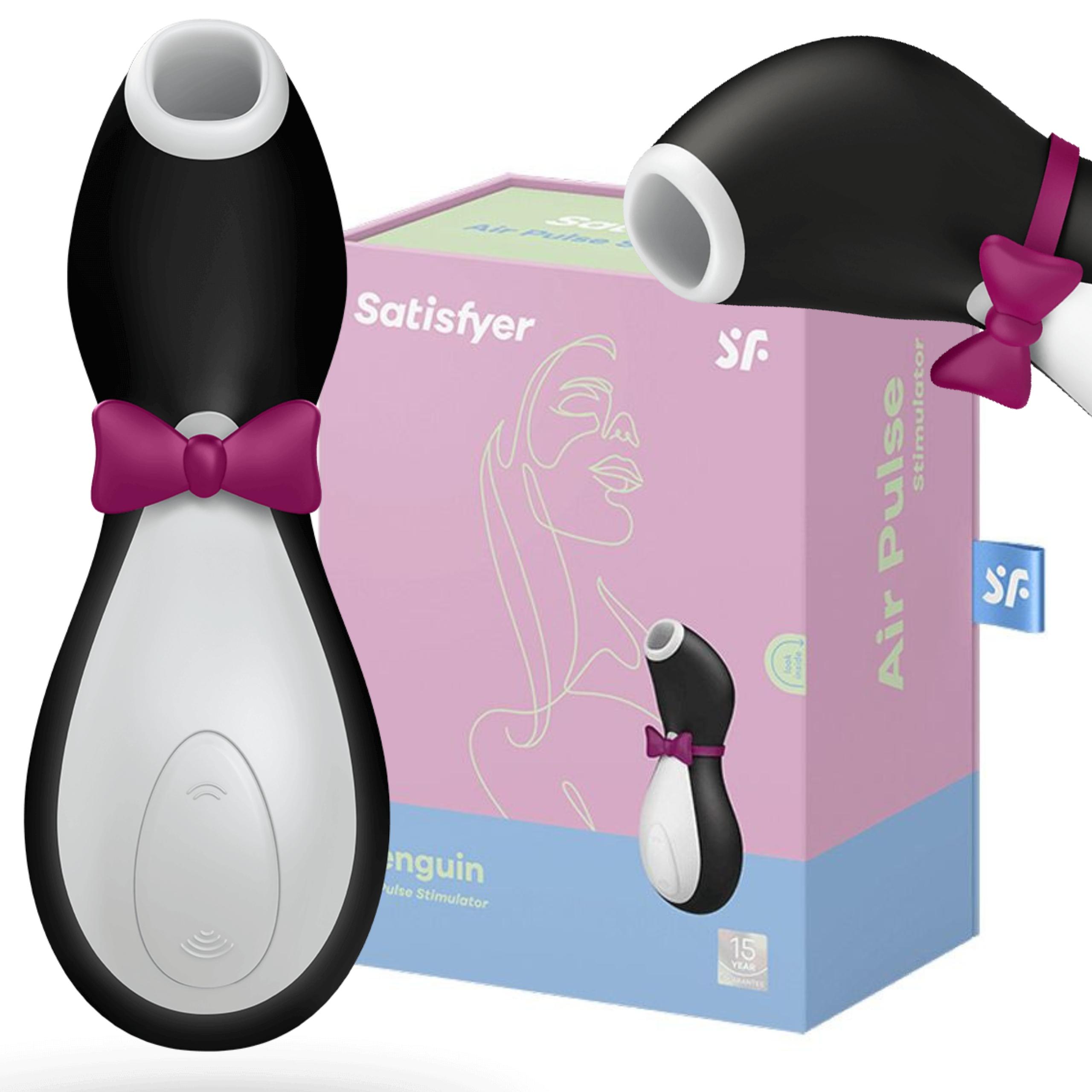 Jak działa masażer łechtaczki Satisfyer Pro Penguin