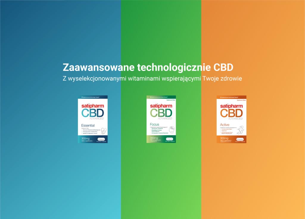 Satipharm produkty z CBD
