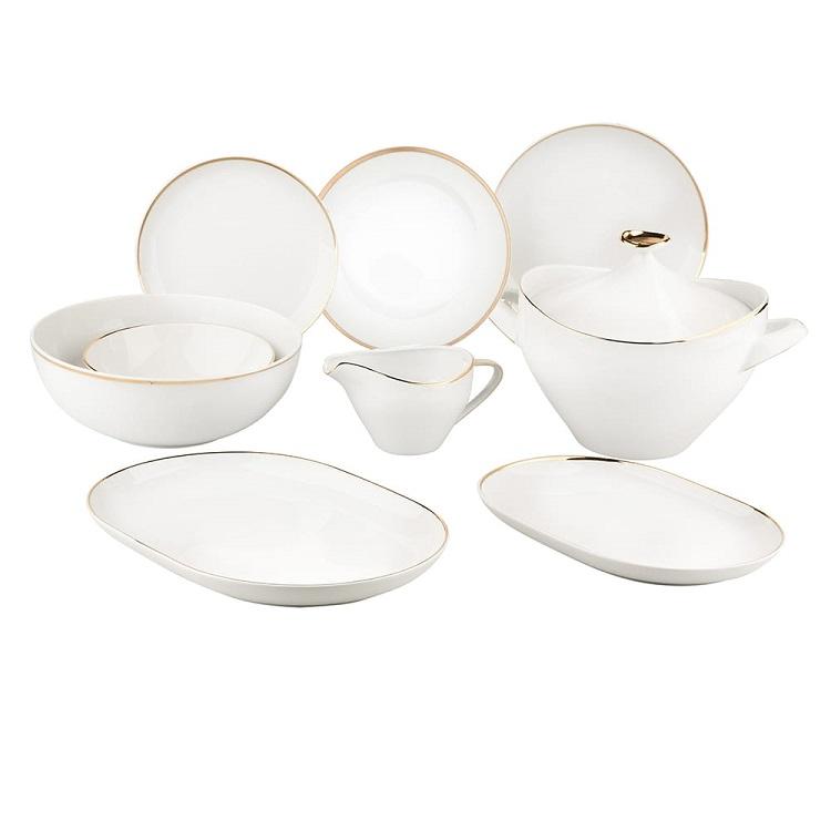 Serwis obiadowy z porcelany