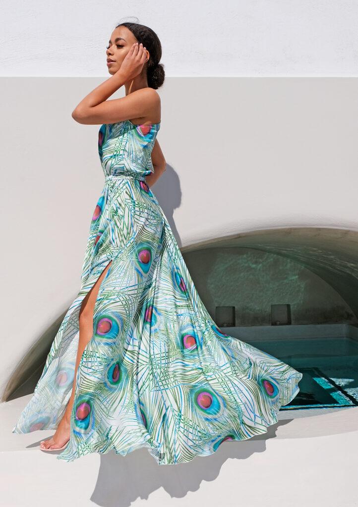 letnia sukienka maxi Mosquito