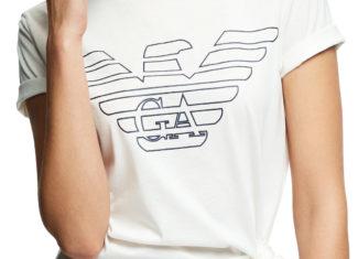 T shirt Armani biały