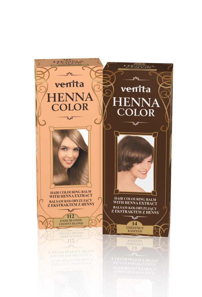 Ziołowe Balsamy Koloryzujące Henna Color