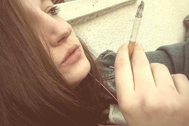 Zmarszczki palacza