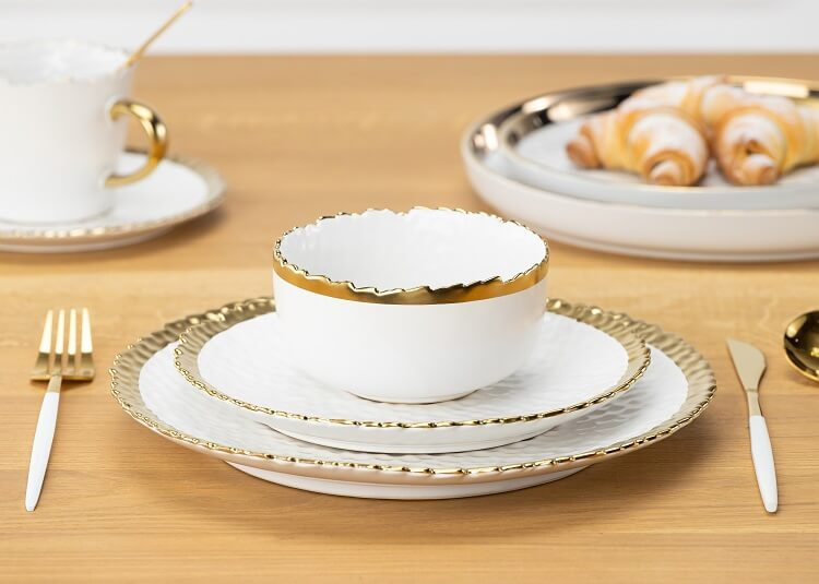 talerze z ceramiki