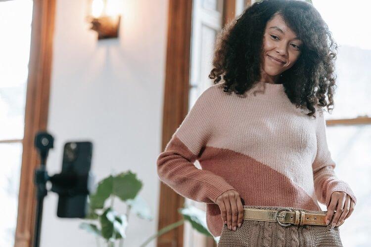 sweter dla klepsydry