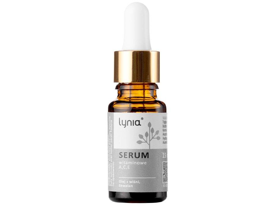 Lynia - Serum witaminowe A, C, E z Olejem z Wiśni oraz Skwalanem