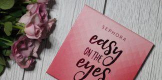 sephora easy on the eyes paleta cieni