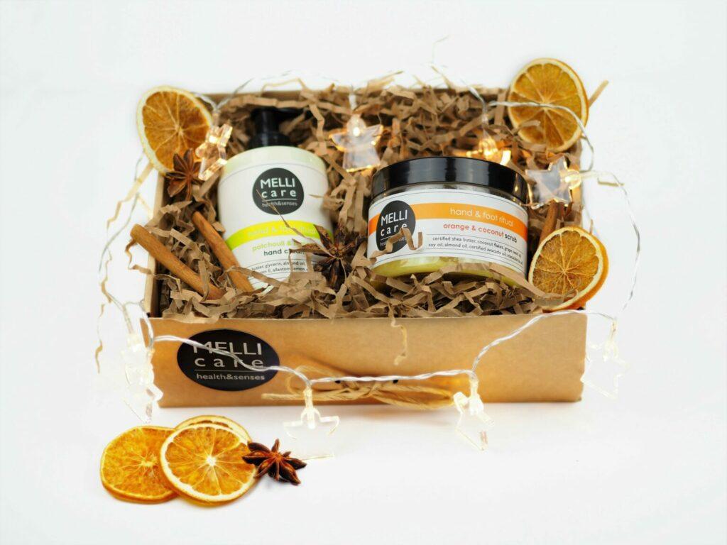 melli care Orange&Cococnut scrub