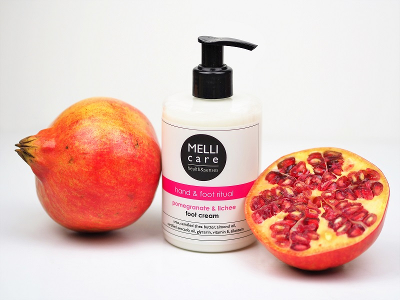 krem do stóp MELLI care Pomegranate&Lichee