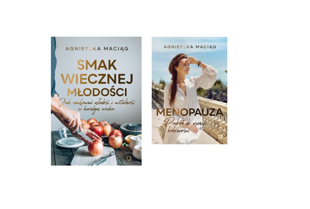 zestaw książek Agnieszki Maciąg
